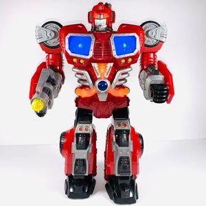 "HAP-P-KID Robot 15"" tall w/lights, sounds,talking"